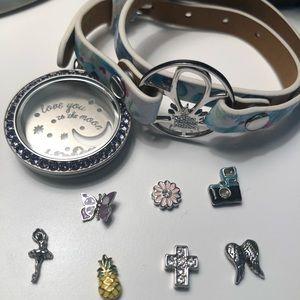 Origami Owl jewelry bundle